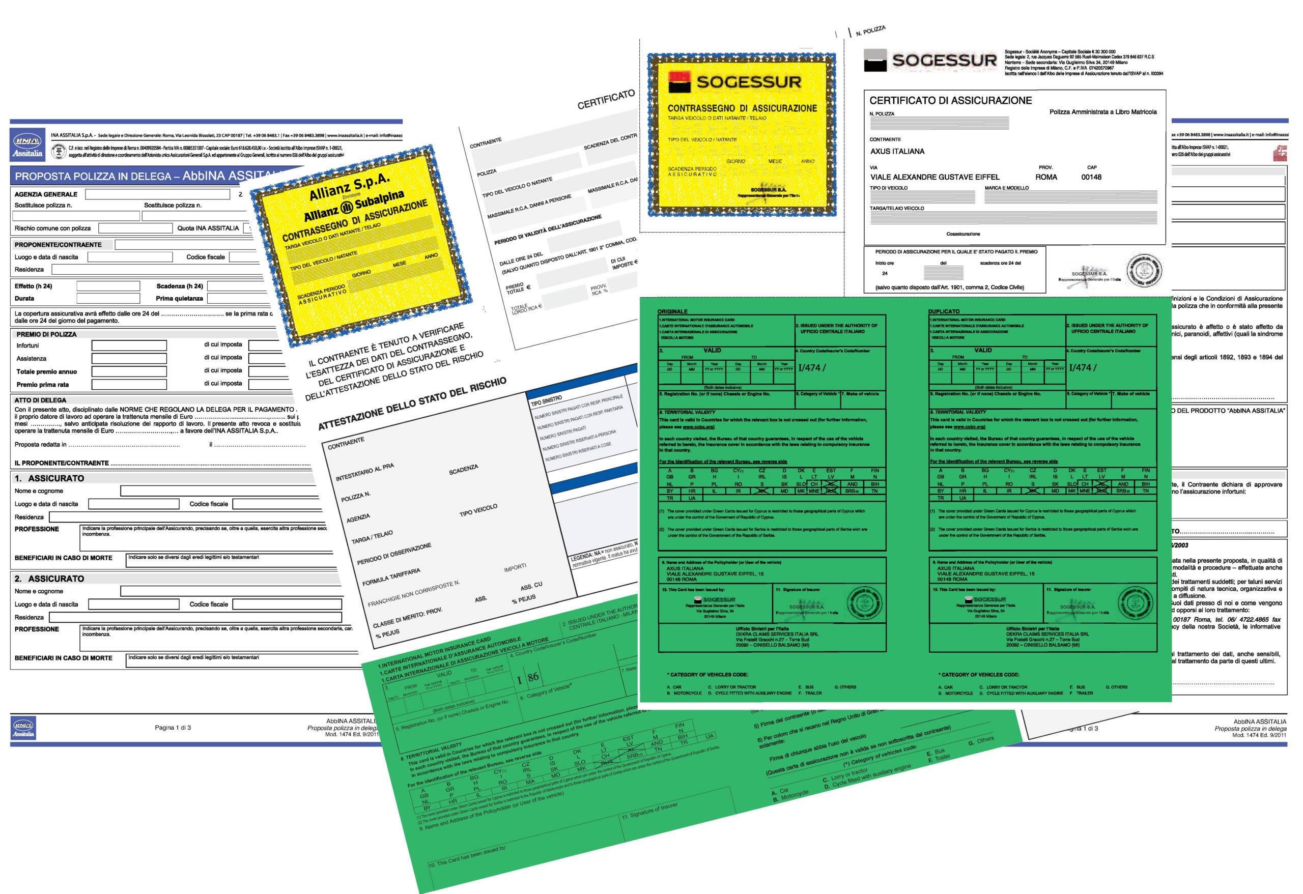 RC Auto, validità del certificato ass.vo in formato digitale